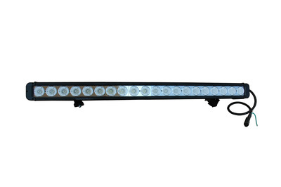 The LEDP10W-200E LED Light Bar is ideal for a wide variety of uses including equipment, vehicle, military, law enforcement and industrial manufacturing applications. 17,200 lumen light output with low voltage and amp draw, a 50,000 hour rated service life and 9 to 46 volt compatibility provides operators with a versatile and powerful LED lighting solution. These LED light bars are waterproof to 3 meters, sealed against intrusion by dust and dirt, and very ruggedly constructed to withstand the most demanding environments, conditions and applications.  (PRNewsFoto/Larson Electronics)
