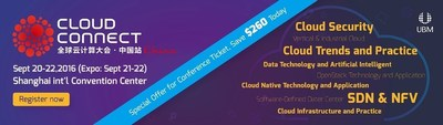 Poster of Cloud Connect China 2016