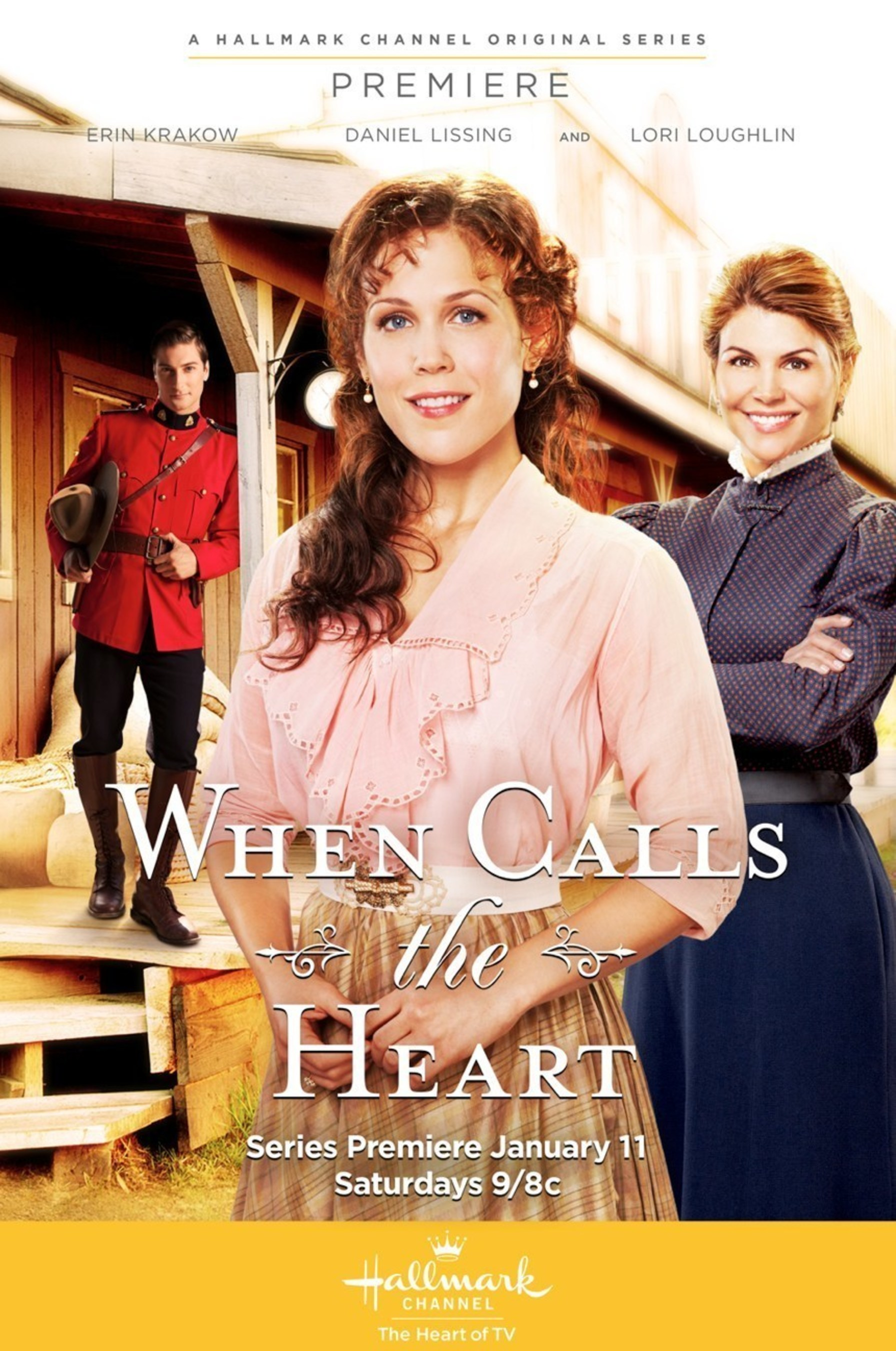Pacific Mercantile Bank Provides Financing for WHEN CALLS THE HEART Season 3 on Hallmark Channel