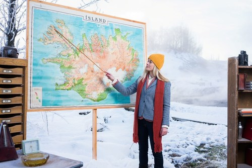 Inspired By Iceland launches new online video tutorial about how to travel further in Iceland as part of its Iceland Academy Winter timetable (PRNewsFoto/Inspired by Iceland)
