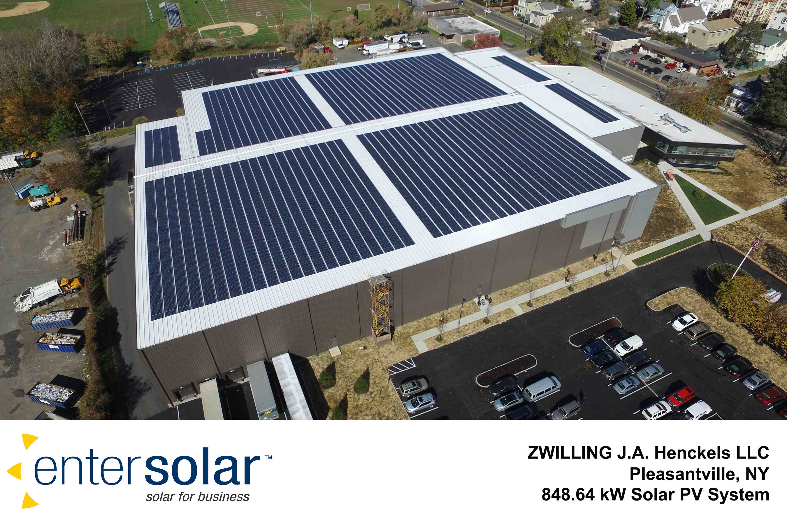 ZWILLING J.A. Henckels Announces The Launch Of Rooftop Solar Project For US Headquarters