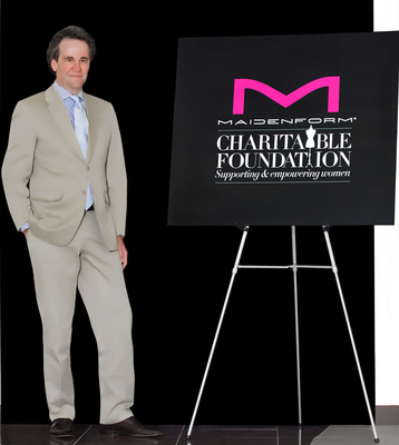 Manipulated Image: Maurice Reznik, CEO of Maidenform is proud to support the Maidenform Charitable Foundation.  (PRNewsFoto/Maidenform Brands, Inc.)