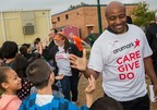More than 500 Aramark volunteers educate local families about nutritious food and healthy lifestyle choices as part of global Aramark Building Community Day of Service.