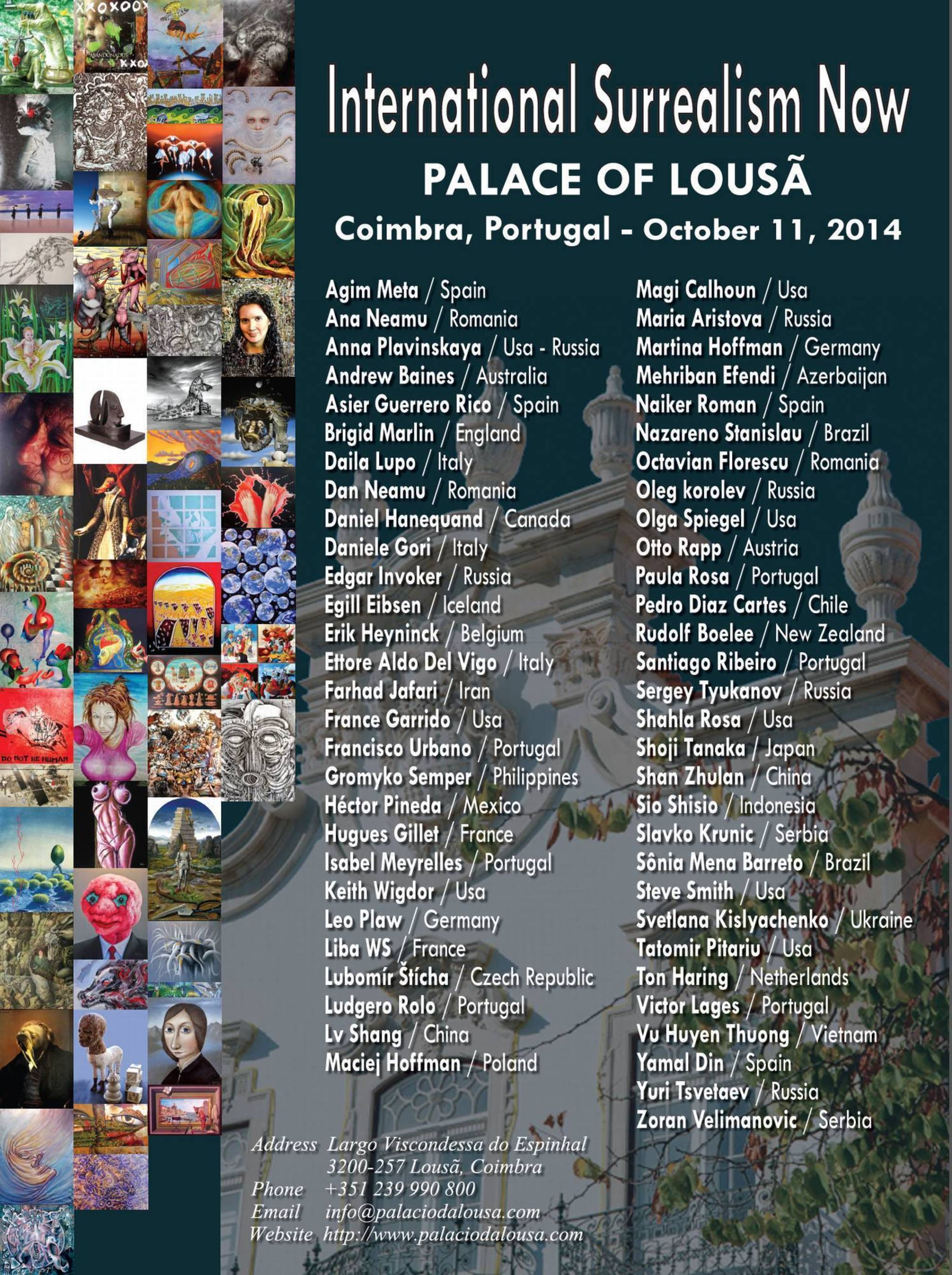 International Surrealism Now's next edition will be hosted in the Historic building of the 18th century ...