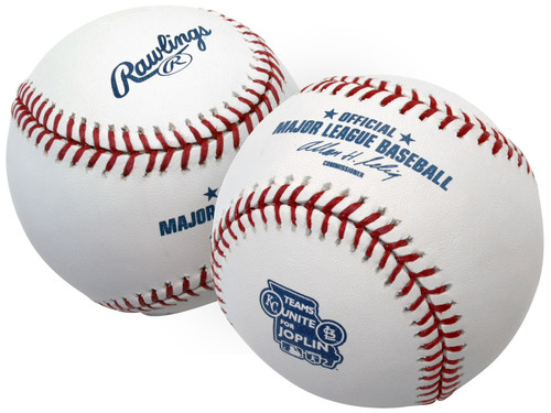 Rawlings Teams Up with the Cardinals and Royals to Help Joplin.  (PRNewsFoto/Rawlings Sporting Goods Company, ...