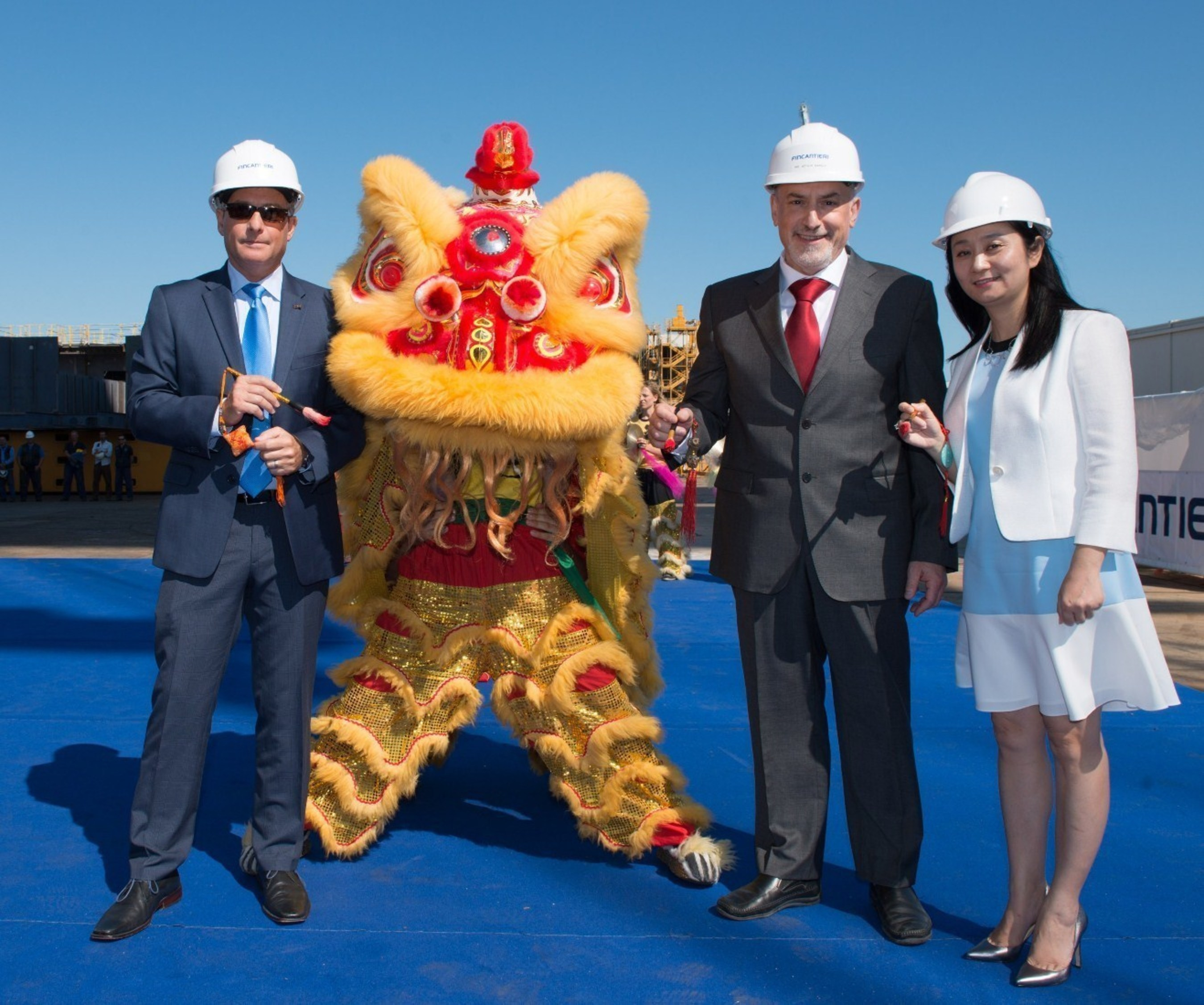 Princess Cruises' New Ship Begins Countdown to Summer 2017 Debut for China Year Round Cruising