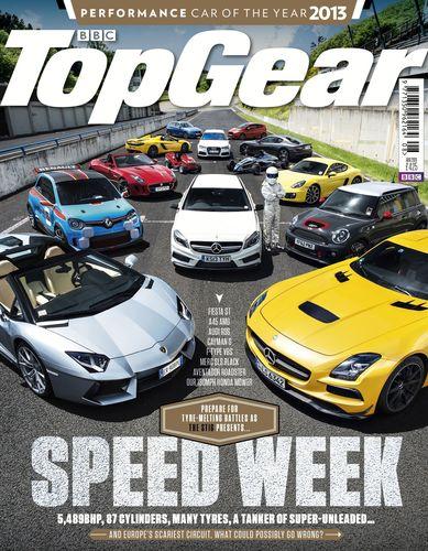 BBC TopGear Magazine und Honda präsentieren 'The Stig' auf einem bis zu bis zu 130 mph schnellen