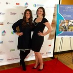 Dr. Smith's Premium Parents Kathryn King and Claire Larson walk the red carpet at the New York City premiere of 40 Weeks The Movie, a documentary by Christopher Henze about the journey of pregnancy. Dr. Smith's is a proud sponsor of the film.