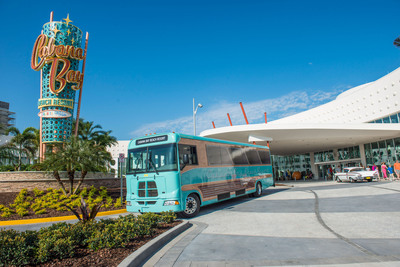 Universal's Cabana Bay Beach Resort officially welcomes its first guests today. This brand-new value and moderately-priced property is the fourth on-site hotel at Universal Orlando Resort and evokes the classic, retro-feel of iconic beach resorts from the 1950s and 60's. (PRNewsFoto/Universal Orlando Resort) (PRNewsFoto/UNIVERSAL ORLANDO RESORT)