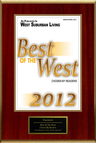 Vincitori Restaurant Selected For 'Best Of The West'