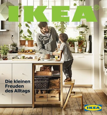The most printed book on earth: The 2016 IKEA catalogue. (PRNewsFoto/IKEA)