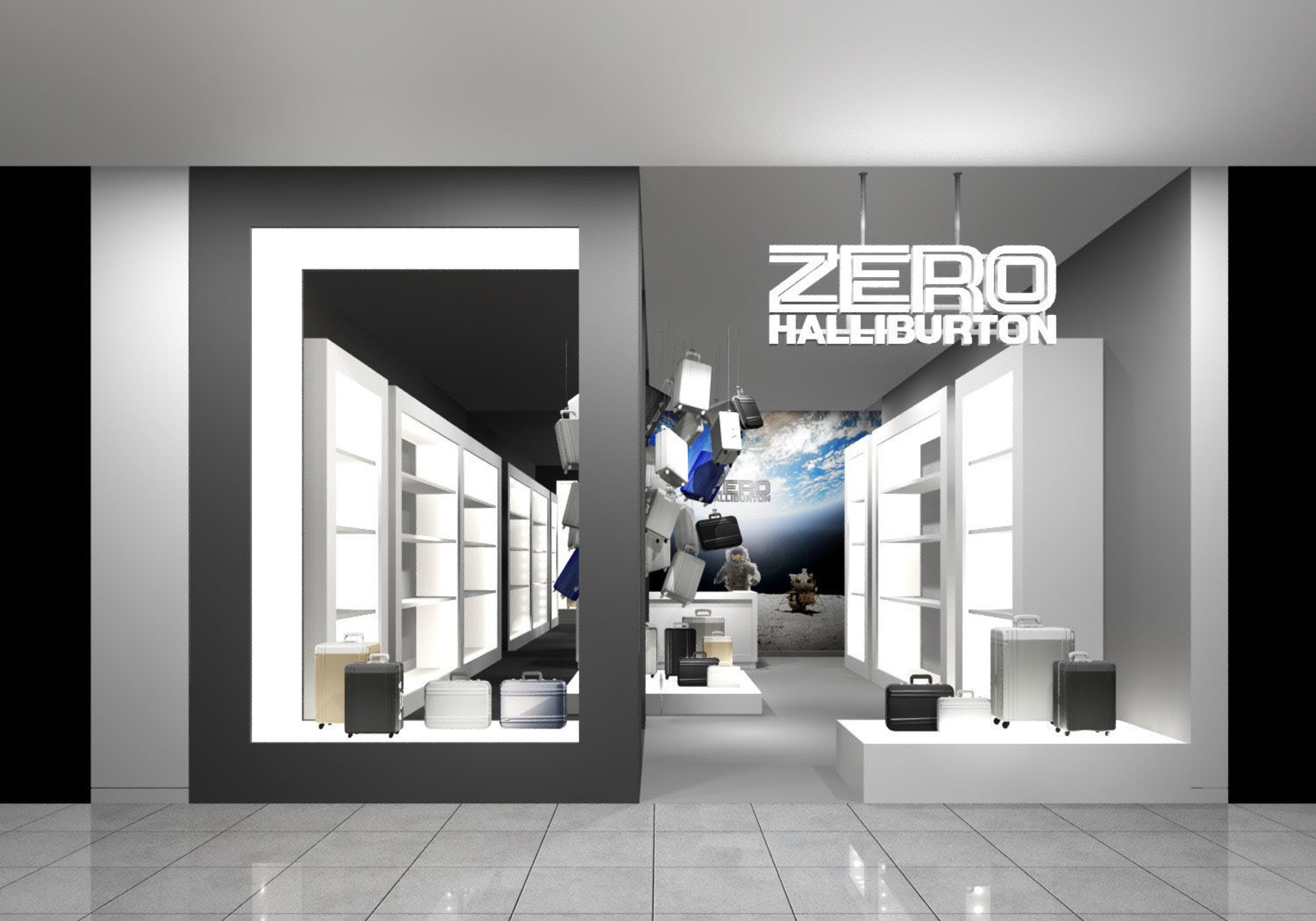 ZERO HALLIBURTON Opens at Roosevelt Field Mall!