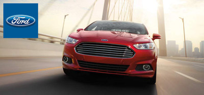 The 2015 Ford Fusion recently arrived on the Wiscasset Ford lot with new standard features. (PRNewsFoto/Wiscasset Ford)