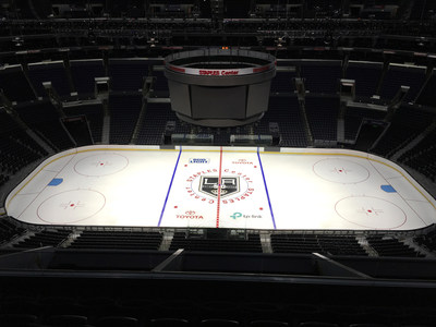 TP-Link will be featured on center ice at STAPLES Center, home of the two-time Stanley Cup Champion LA Kings.