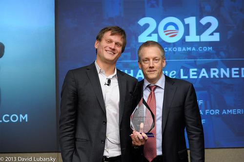 Teddy Goff (left) and David Mathison. (PRNewsFoto/The Chief Digital Officer Summit) (PRNewsFoto/THE CHIEF DIGITAL OFFICER SUMMIT)