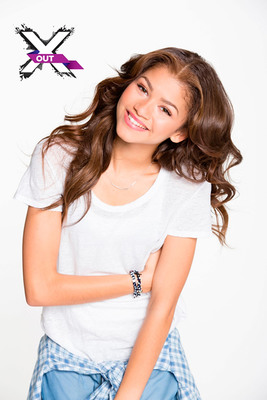Teen Superstar Zendaya Announced As X Out(R) Brand Advocate.  (PRNewsFoto/X Out)