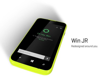 Win JR 2 (PRNewsFoto/BLU Products)