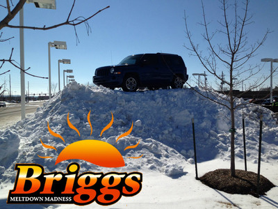 Briggs Auto Group will be giving away three cars during the Meltdown Madness giveaway.  (PRNewsFoto/Briggs Auto Group)