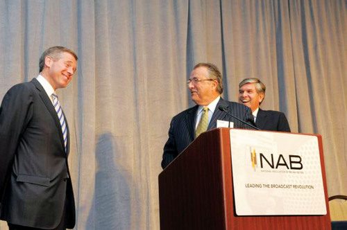 Reilly Honored at National Association of Broadcasters' State Leadership Conference in Washington,