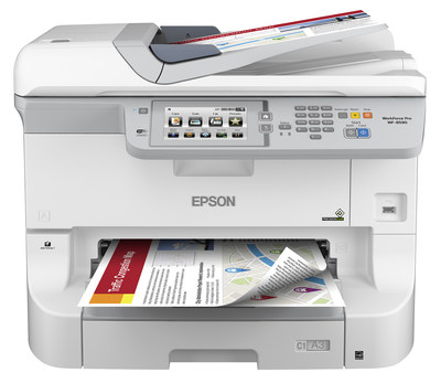 Epson Introduces Heavy Duty A3 Color Workgroup Printer and MFP Powered by PrecisionCore(TM) Technology