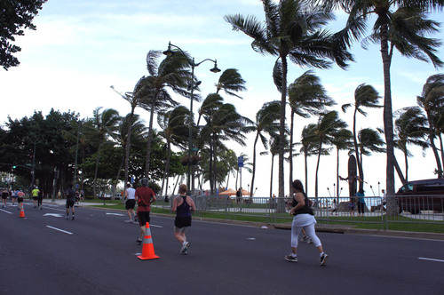 Runners in the Honolulu Rainbow Ekiden will enjoy the sights of beautiful Waikiki Beach in this first-ever ...