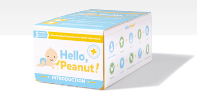 Launch of Hello, Peanut! marks first and only product available for parents to safely introduce peanuts to infants.