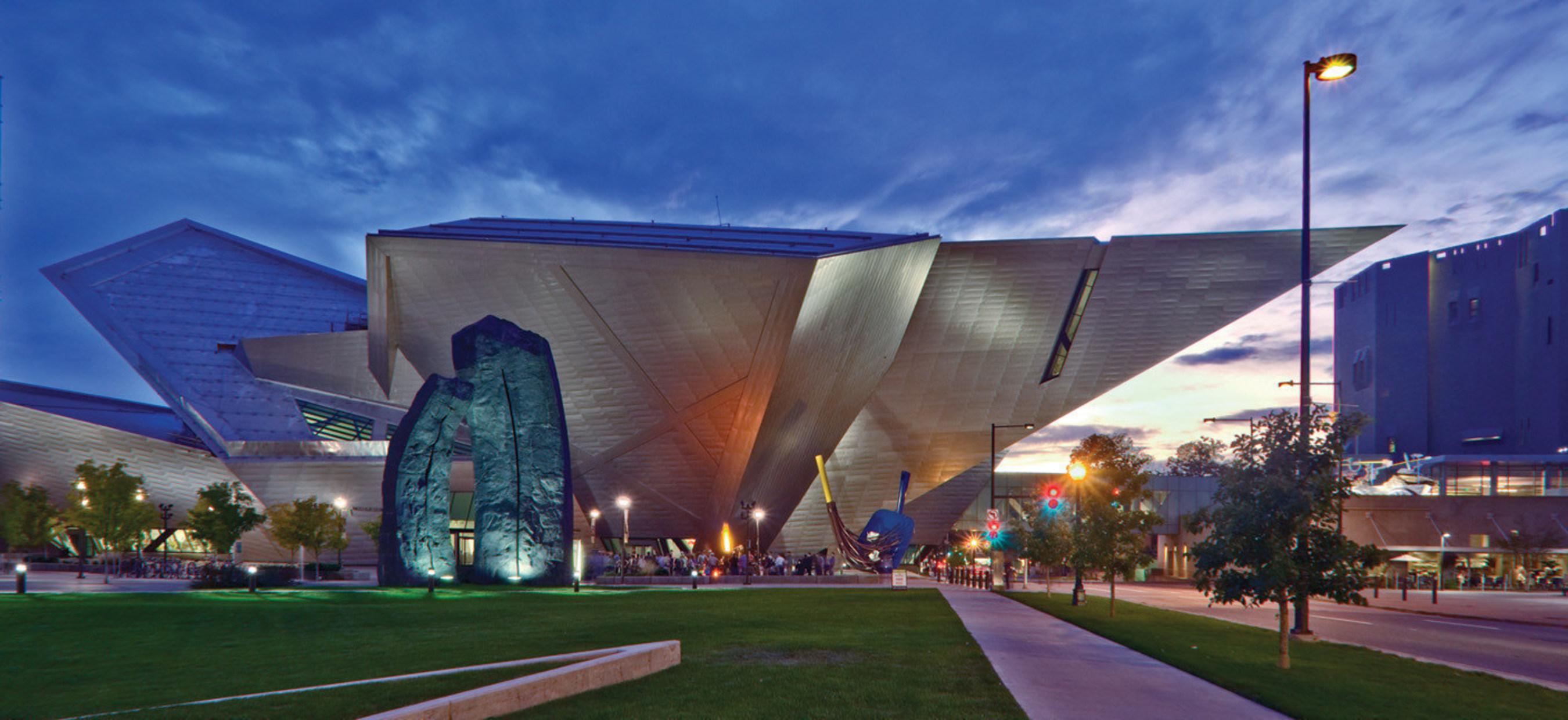 Denver Art Museum. Photo Credit Jeff Wells