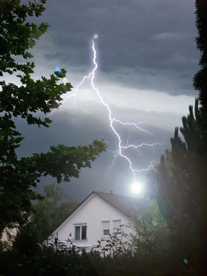 Homeowners looking to secure insurance incentives for lightning protection systems may want to contact their insurance providers to determine their eligibility for discounts or premium credits.   (PRNewsFoto/Lightning Safety Alliance, STOCK4B Creative/STOCK4B-RF/Getty Images)