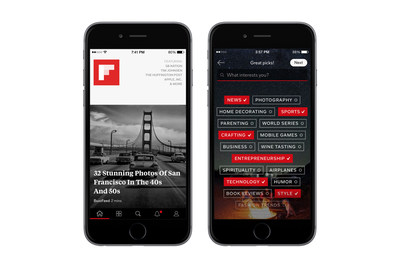 Now with 34,000 topics, Flipboard gives readers an even more personal magazine.