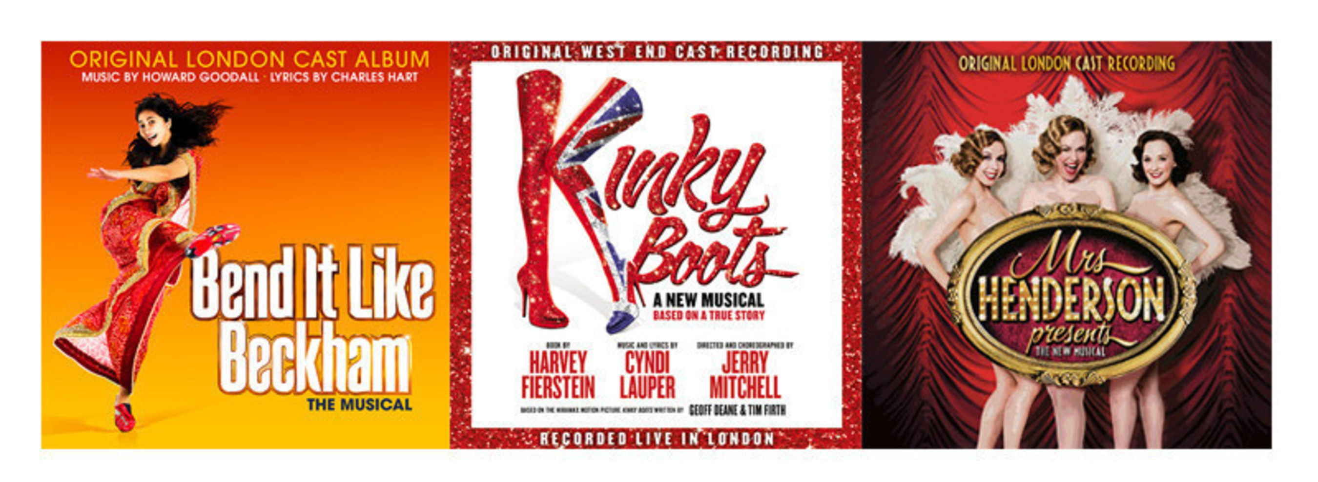 Masterworks Broadway Celebrates London's West End With The Release Of Three Cast Recordings From Olivier Award Nominees For Best New Musical