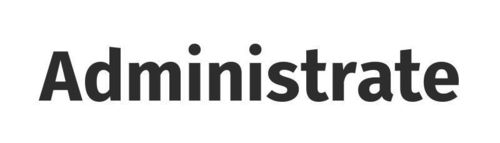 Administrate Logo (PRNewsFoto/Administrate)