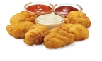 7-Eleven adds quality, 100% white meat Chicken Dippers to its Hot Foods program at 5,200 U.S. stores. Customers can choose among three sauces to dress the six for $1.99 mini-meal snack item. (PRNewsFoto/7-Eleven, Inc.)