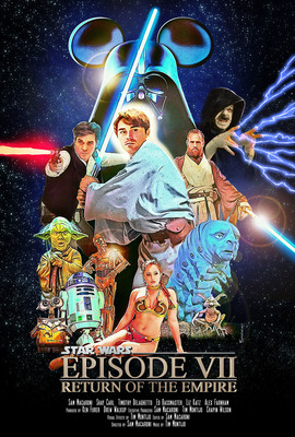 Star Wars - Return of the Empire.  (PRNewsFoto/Macaroni Movies)