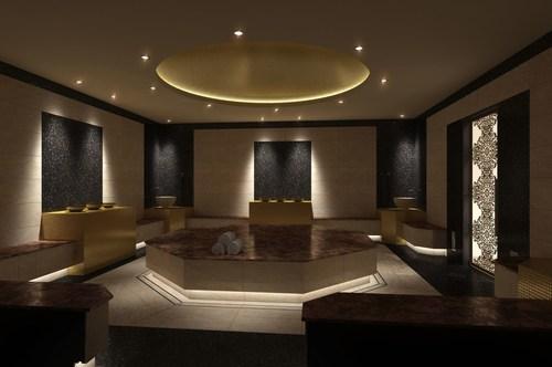 The hamam serves as a secret haven for guests. (PRNewsFoto/THERMARIUM SPA-Anlagenbau GmbH) ...