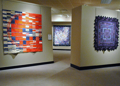 11th Quilt Japan Exhibit; Artists: Kamitani, Rikii, Morishita.  (PRNewsFoto/National Quilt Museum)