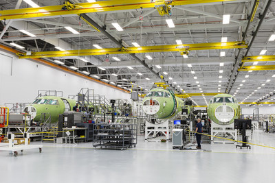 Gulfstream Aerospace Corp. today announced it recently joined the wing to the fuselage on the first Gulfstream G600 flight-test article, signifying steady progress in the G600 program. As production continues for the G600, the Gulfstream G500 flight-test program also achieved several milestones to include receiving the program's first Type Inspection Authorization (TIA) from the Federal Aviation Administration (FAA). The FAA issued the TIA for inlet compatibility and allowed Gulfstream to perform this testing for certification credit.