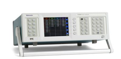 Tektronix PA4000 Power Analyzer Offers Power Electronics Engineers  Uncompromised Measurement Accuracy on Real-World Signals.  (PRNewsFoto/Tektronix, Inc)