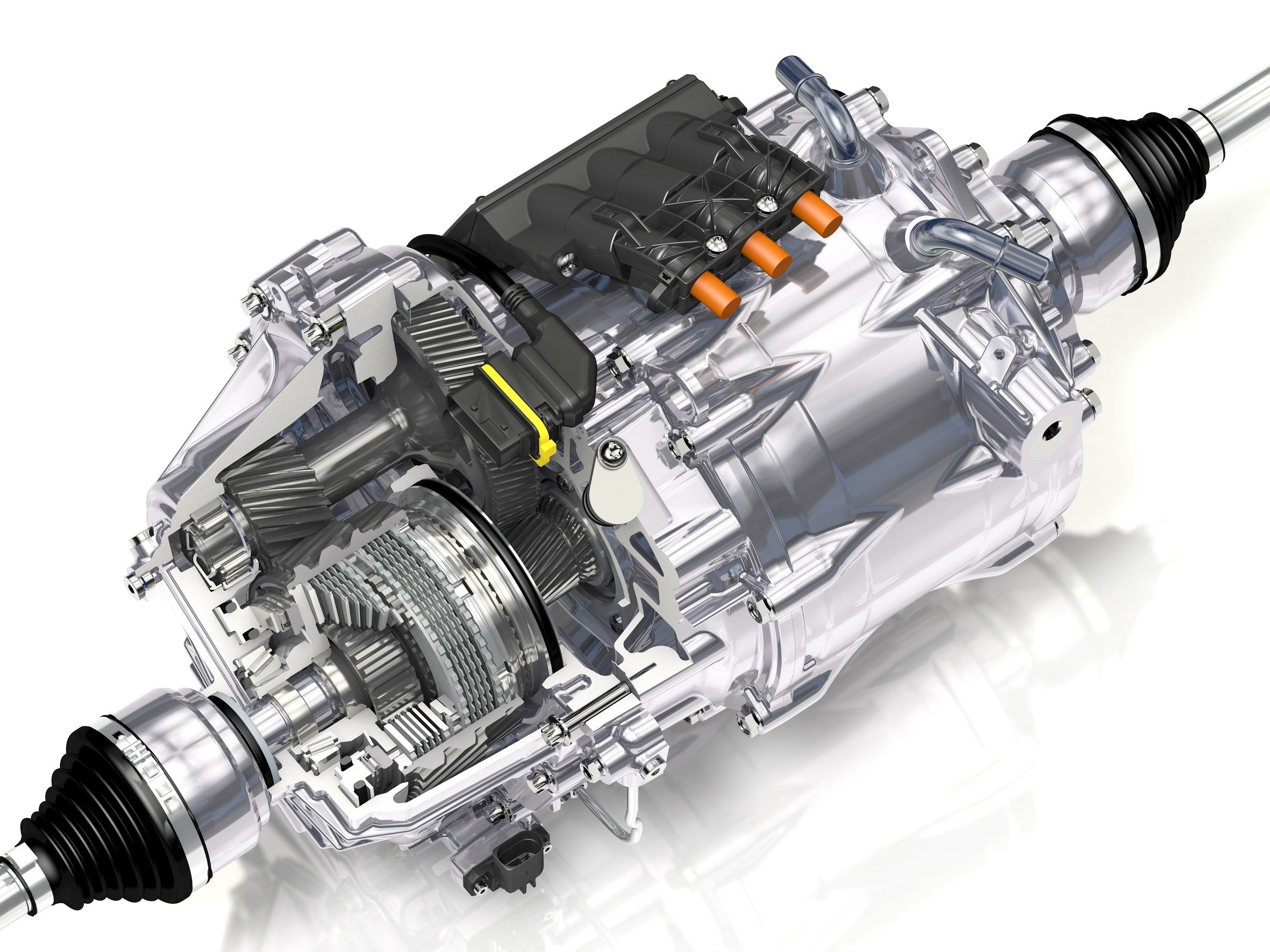 GKN Automotive showcased its new eTwinsterR torque-vectoring electric drivesystem for hybrid vehicles at its Wintertest proving ground in Arjeplog,Northern Sweden this week. The eTwinster plug-in module makes it simpler forautomakers to offer electric all-wheel drive and torque vectoring in hybridvehicles.