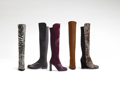 STUART WEITZMAN LAUNCHES SWxYOU: The 5050 A Customization Program Centered on the Iconic Silhouette of the 5050 Boot