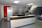 Audi Advanced Showroom Concept created by i.M Branded.