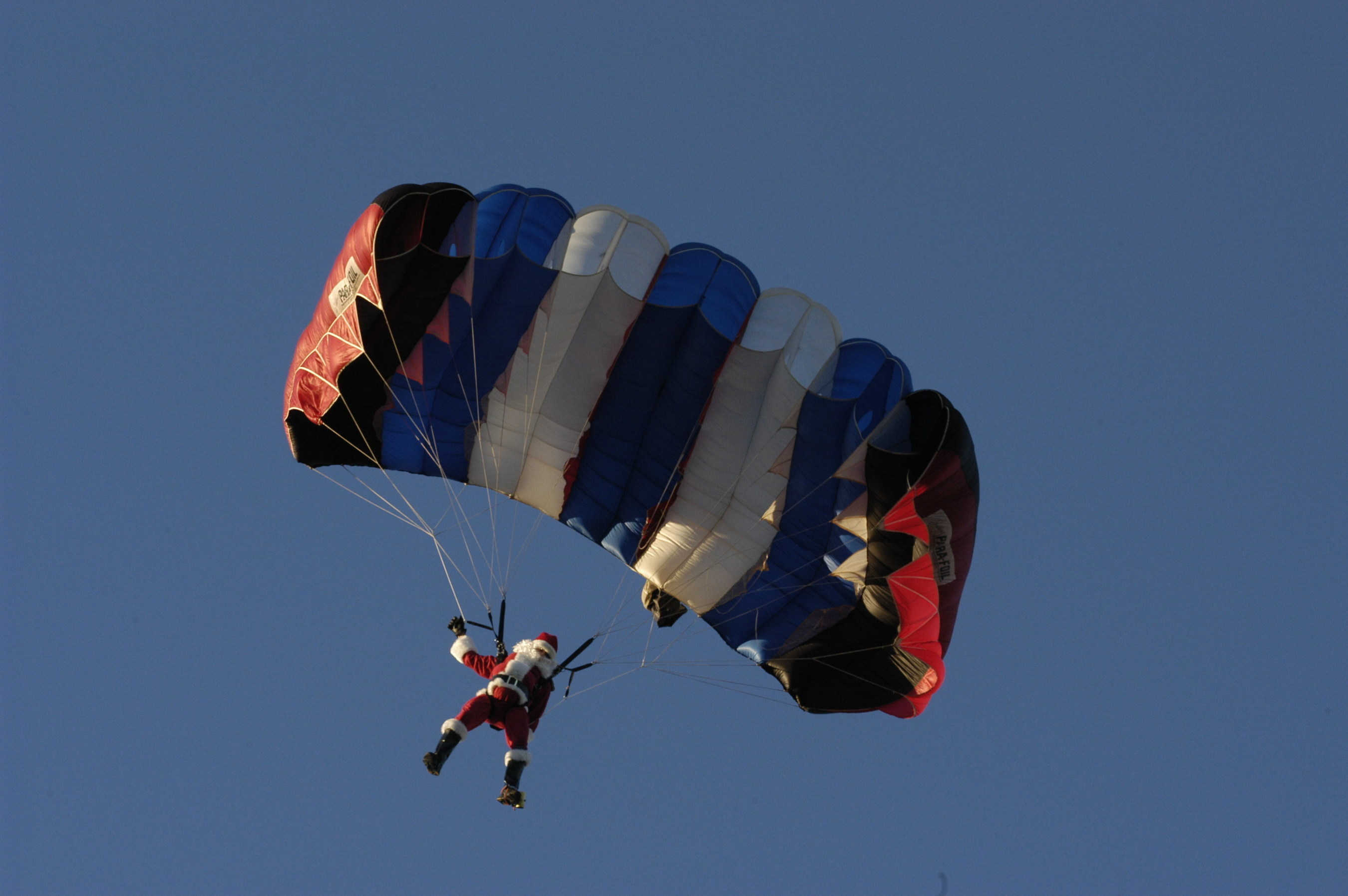Santa will parachute in to kick off the holiday season for the opening of Moody Gardens Festival of Lights and ICE LAND: Ice Sculptures, Saturday, November 12