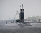 The nation's newest and most advanced nuclear-powered attack submarine, Illinois (SSN-786), returned to the General Dynamics Electric Boat shipyard Sunday following the successful completion of alpha sea trials, its first voyage in open seas. Illinois is the 13th ship of the Virginia Class, the most capable class of attack submarines ever built. Electric Boat is a wholly owned subsidiary of General Dynamics (NYSE: GD).