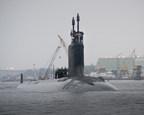 Submarine Illinois Completes First Voyage