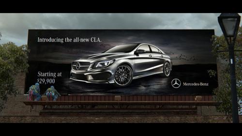 "Mercedes-Benz ""Soul"" Shines Through.  (PRNewsFoto/Mercedes-Benz USA)"