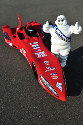 Michelin Teams with Innovative DeltaWing Project.  (PRNewsFoto/Michelin)