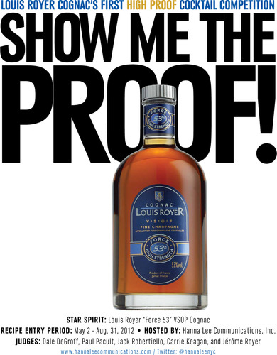 "Hanna Lee Communications, Inc. to host the first-ever ""Show Me the Proof!"" High Proof Cognac Cocktail ..."