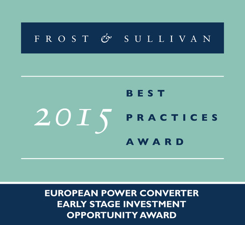 Nordic Power Converters Bags Key Award from Frost & Sullivan for its Game-changing LED Drivers