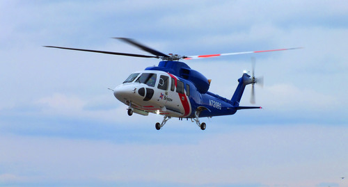 In December, Sikorsky Aircraft Corp. delivered its first fully configured S-76D(TM) helicopter, the latest in the long and highly successful Sikorsky S-76(TM) commercial aircraft family, to the Bristow Group Inc.  (PRNewsFoto/Sikorsky Aircraft Corp.)