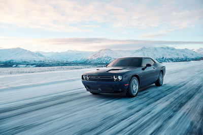 The 2017 Dodge Challenger GT - the first and only all-wheel-drive American muscle coupe.