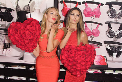 Victoria's Secret Angels Share The Love For Valentine's Day.  (PRNewsFoto/Victoria's Secret)